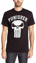 Marvel Men's Punisher Logo T-Shirt
