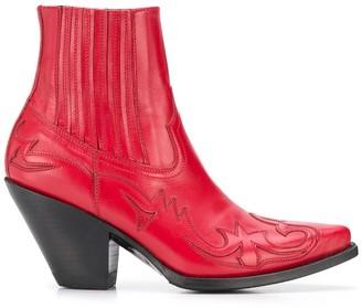 Paul Warmer x Sendra western leather boots