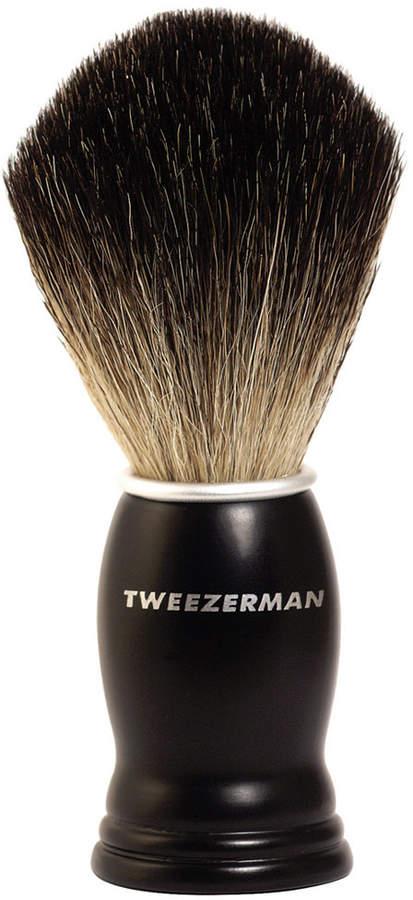 Tweezerman Gear Men Deluxe Shaving Brush
