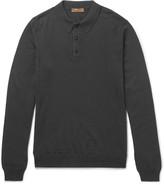 Etro - Merino Wool Polo Shirt