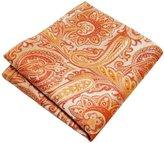Shlax & Wing Shlax&Wing Mens Pocket Square Paisley Silk Large Size Silk