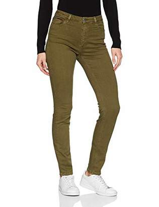 Tommy Jeans Women's High Rise Santana Skinny Jeans, (Gd Military Olive Stretch 911), W28/L32