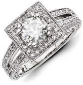 VI STAR 14k Gold Diamond/moissanite Engagement Ring, Best Quality Free Gift Box
