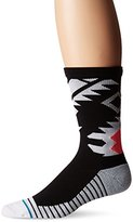 Stance Men's Uncovered Fusion Athletic Moisture Wicking Breathable Arch Support Crew Sock