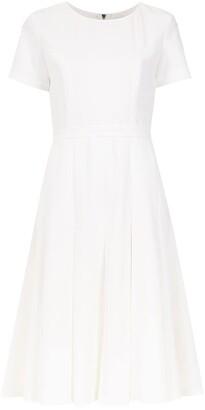 Olympiah pleated Spezzia dress