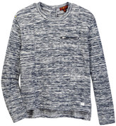 7 For All Mankind Long Sleeve Knit Top (Big Girls)