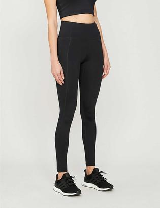 Girlfriend Collective Compressive 7/8 high-rise stretch-jersey leggings