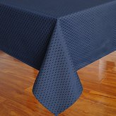 Eforcurtain Heavy Weight Classic Waffle Microfiber Table Cover Rectangle Tablecloth Stain Resistant /Spill-proof /Waterproof, Blue, 60-inch By 84-inch