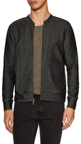 John Varvatos Double Face Zip Front Jacket