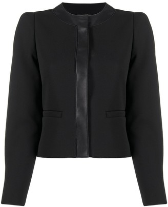 Emporio Armani Cropped Fitted Jacket