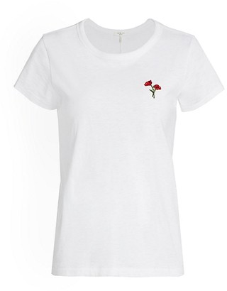 Rag & Bone Poppy Flower Tee
