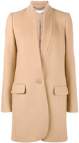 Stella McCartney Bryce single breasted coat - women - Cotton/Polyamide/Viscose/Wool - 36