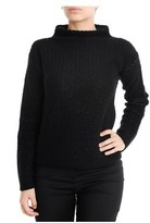 Les Copains Women's Black Wool Sweater.