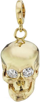 Luis Morais Medium Diamond Skull Charm
