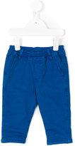 Paul Smith elasticated waistband chinos - kids - Cotton - 18 mth