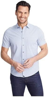 UNTUCKit Tiefenbrunner Performance Shirt (Navy) Men's Long Sleeve Button Up