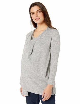 Maternal America Women's Wrap Maternity Nursing Sweater