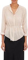 Giada Forte Women's Pleated Cotton-Silk Blouse