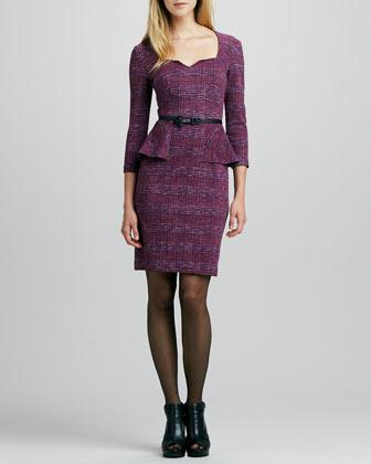 Nanette Lepore Safi Casablanca Peplum Dress
