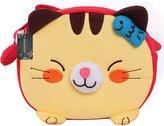 Donalworld Kid Girl 3D Cat Deign Cartoon Meengerhoulder Bag Handbag