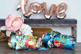 Etsy Bridesmaid robes, satin floral robe, wedding robe, Junior Bridesmaid Robes, Bridal Party Gift, brid