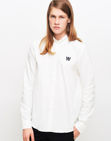 Wood Wood Timothy Shirt White