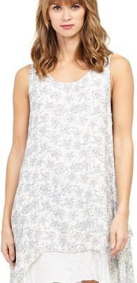 M&Co Izabel floral layered hem tunic dress