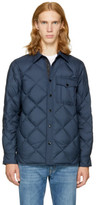 Rag & Bone Navy Mallory Shirt Jacket
