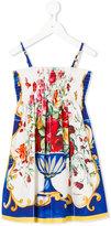 Dolce & Gabbana floral print casual dress - kids - Cotton - 10 yrs