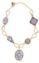 Rosantica Sicilia Multi-tile Pendant Necklace - Womens - Multi