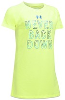 Under Armour Girls' Never Back Down Tee - Sizes XS-XL