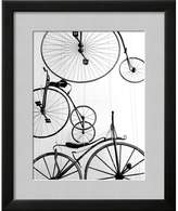 Art.com Bicycle Display at Swiss Transport Museum Framed Print,