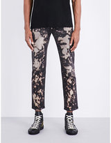 Gucci Bleached Slim-fit Tapered Jeans