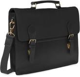 Vida Vida Luxe Black Leather Briefcase