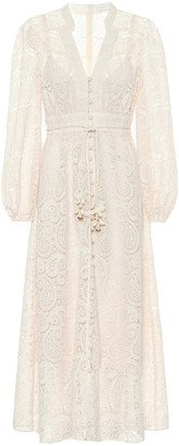 Zimmermann Exclusive to Mytheresa Lace midi dress