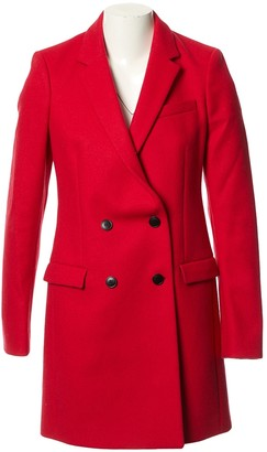Balenciaga Red Wool Coats