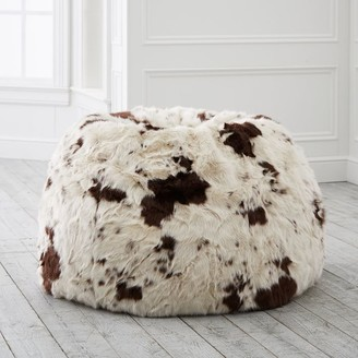 Pottery Barn Teen Pony Faux-Fur Bean Bag Chair
