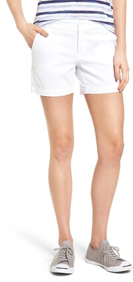 Caslon Cotton Twill Shorts
