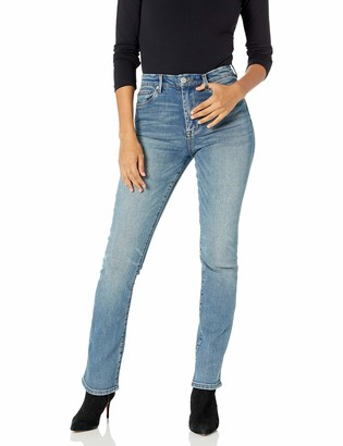 Blank NYC Women's The Cooper Straight Leg Denim Jeans | Star Bursts Size 30/ 33