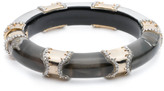 Alexis Bittar Pave Segmented Hinge Bracelet