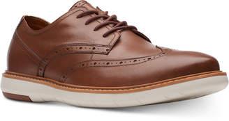 Clarks Men Draper Wingtip Navy Suede Casual Lace-Up Shoes Men Shoes