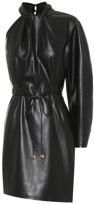 Nanushka Ida faux-leather minidress