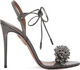 Aquazzura Monaco embellished leather sandals