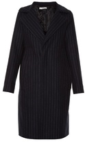 Golden Goose Deluxe Brand Single-breasted pinstriped coat
