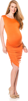 A Pea in the Pod Rachel Pally Ruched Maternity Dress