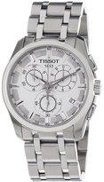 Tissot Men's Steel Bracelet & Case Quartz Dial Watch T0356171103100