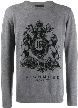 John Richmond Zerizer printed logo sweatshirt