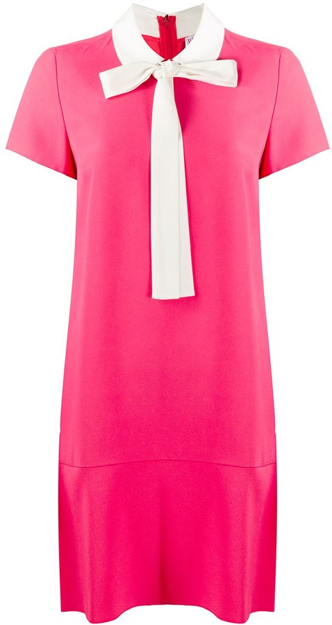 RED Valentino Pussybow Shift Dress