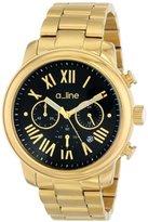A Line a_line Women's AL-80163-YG-11 Amor Analog Display Japanese Quartz Gold Watch