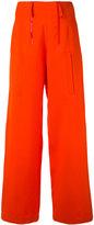 Ports 1961 palazzo pants - women - Silk/Wool - 42